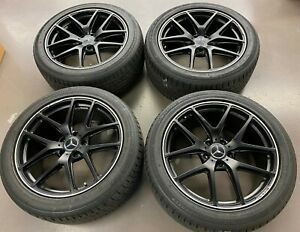 21 Mercedes benz G class G65 Amg Oem Wheels Rims And Continental Tires 21x10