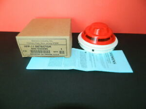 New Siemens Hfp 11 Photoelectric Detector Fire Alarm Free Fedex 2 day Ship