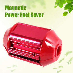 Red Car Metal Fuel Saver Device Magnetic Gas Oil Saving Device Universal O7j3