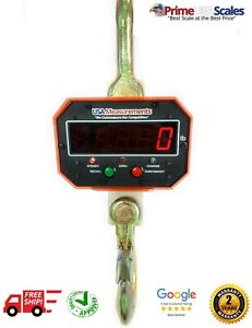 8 000 Lb Overhead Hanging Digital Weighing Crane Scale W Remote 4 Tons