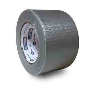 Duct Tape Packing Tape Roll Heavy Duty 3 Inch X 60 Yards Silver 6 Mil