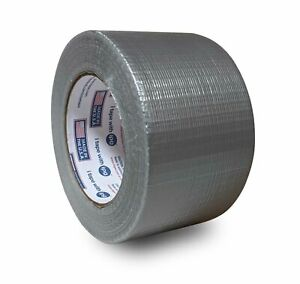Duct Tape Heavy Duty Packing Tape 3 Inch X 60 Yards 6 Mil Thick Silver 224
