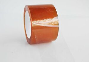 Clear Natural Rubber Carton Sealing Packing Tape 1 75 Mil 72mm X 100m 96 Rolls