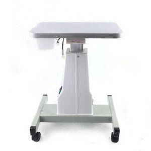Optical Mobile Stand Motorized Equipment Optometry Electric Power Work Table Top