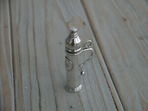 Superb Rare Novelty Victorian Antique Sterling Silver Childs Bubble Blower