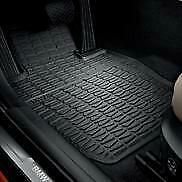 Genuine Bmw All Weather Rubber Floor Mats Rear 51 47 2 336 795