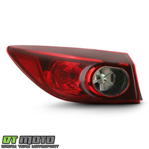 2014 2018 Mazda 3 Sedan Non led Outer Tail Light Lamp Replacemet Lh Driver Side