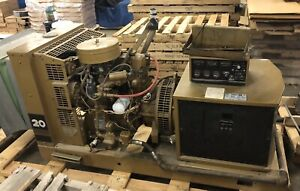 Kohler 20rz82 18 Kw Fast Response Propane Gas Standby Generator Well Maintained