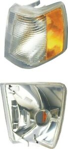 Turn Signal Light Assembly Fits 1988 1995 Volvo 940 760 960 Uro Parts