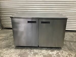 2 Door Under Counter Refrigerator Nsf 48 Cooler Work Top Delfield Uc4048p 3508