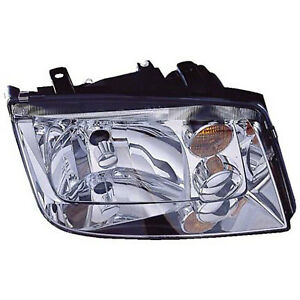 Vw2502125 New Head Lamp Assembly Driver Side W O Fog Lamps Type 4