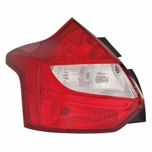 Fo2818152c New Tail Light Lens Housing Driver Side Fits 2012 2014 Ford Focus