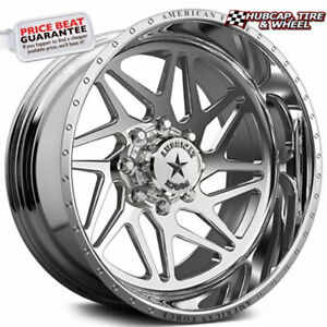 American Force Genesis Ckh02 Concave Polished 22 X12 Truck Wheel 8 Lug Set 4