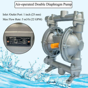 Qby3 25al 22gpm Double Diaphragm Pump Air operated1 inlet outlet Port Industrial