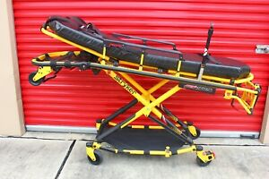 Mint 2014 Stryker Mx pro 650lb Ambulance Stretcher Brake Straps Iv Gurney Cot