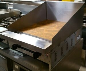 New 12 Flat Top Griddle Stratus Smg 12 bs 12h Gas 3521 Commercial Plancha Usa