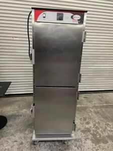 Heated Holding Food Cabinet Enclosed Pass Thru Full Sheet Pan Bevles Htsd 3590