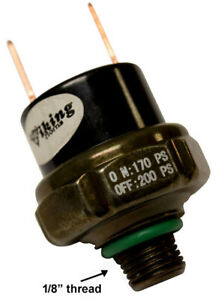 viking Horns 1 8 Thread Air Pressure Switch For Train Horn Rated 170 200 Psi