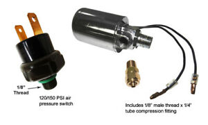 Viking Horns Electric Valve Solenoid 150psi Air Pressure Switch For Train Horn