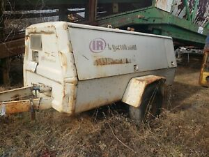250 Cfm Diesel Air Compressor Trailer Ingersoll Rand
