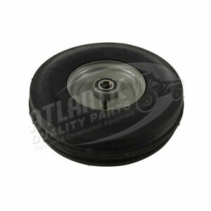 Tedder Tire Complete With Rim Bearings Tri ribbed Tire 3 50 X 6 4 Ply 1