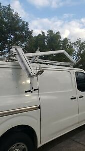 Adrian Steel Ladder Rack With Adjustable Length Double Sided With Hydraulic Used