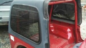 Jeep Tj Wrangler Used 2 Piece Hardtop With Insulation 97 06 14230