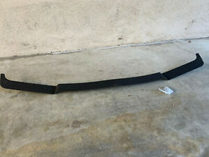 Bmw E30 Aluminum Is Splitter Spoiler Front Lip 325is 318is Fits On Oem b Black