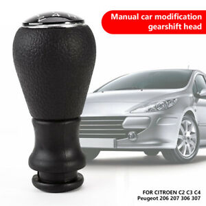 Gear Shift Knob Adapter For Peugeot 206 306 405 307 Picasso C1 C2 C3 New Us Fk