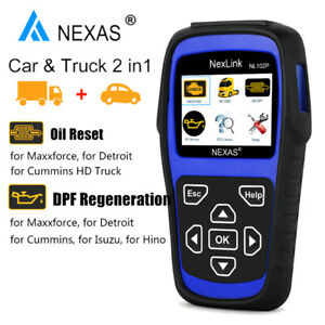 Nl102p Heavy Duty Truck Diagnostic Scanner Obd2 Car Diesel Engine Dpf Oil Reset