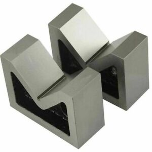 Cast Iron Vee Block Set Of 2 Pieces 3 X 1 1 4 X 2 1 4 Inch V Block Without Clamp