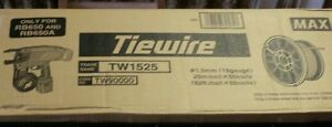 Max Tw1525 Rebar Tie Wire 16 Ga steel 82 Ft pk 50