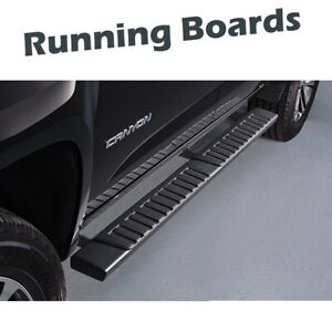 For 2007 2020 Toyota Tundra Double Cab 6 Black Oe Running Boards Side Step Bars