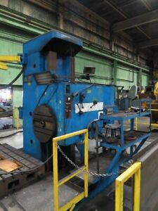 Union 5 1 4 Horizontal Boring Mill 43 Spindle Travel 63 X 55 Table