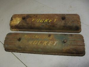 Vintage Oldsmobile Rocket V 8 Valve Covers
