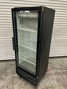 Glass Door Refrigerator Display True Gdm 12 Reach In Single Nsf Cooler 3606