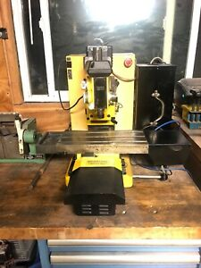 Dyna Myte Cnc Mill Machine Centroid Controller Er16