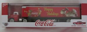 M2Machines Coca-Cola Limited Edition Diecast Collectible Truck Model 1:64 Scale