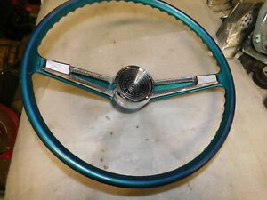 1961 Chevy Belair Steering Wheel With Horn Ring