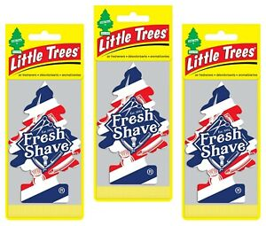 Fresh Shave Scented Little Trees Hanging Car Air Fresheners 24pk New Sealed
