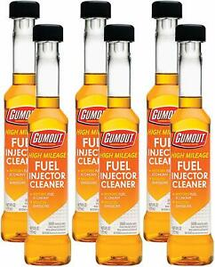 Gumout Pennzoil High Mileage Fuel Injector Cleaner 6 Oz 6 Pack