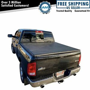 Hard Tri Fold Tonneau Cover Easy Install For Dodge Ram Pickup 5 7ft Bed New