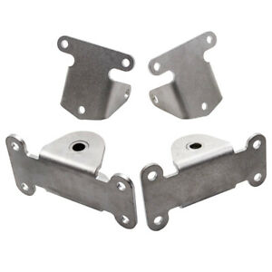 Front Engine Motor Mount Frame Mount Kit For Chevy Small Block Sbc 327 350 400