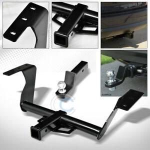 Class 3 Trailer Hitch W 2 Loaded Ball Bumper Tow Kit For 14 18 Subaru Forester