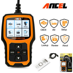 Automotive Obd Code Reader Obd2 Car Check Engine Fault With I M Readiness Scan