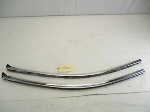 1959 1960 Cadillac Two Door Hardtop Quarter Window Upper Felt Channel L