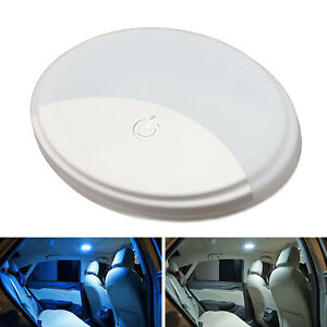 White ice Blue Portable Usb Rechargeable Magnetic Mount Led Dome Ceiling Lamp