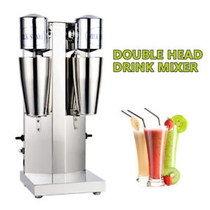 Commerce Stainless Steel Milk Shake Machine Double Head Drink Mixer High Quality