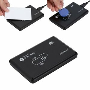 Smart 125khz Nfc Id Card Rfid Writer copier reader duplicator Usb For Pc Windows