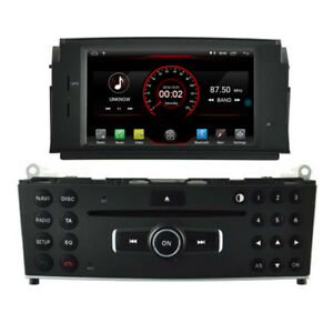 Android 10 Car Gps Radio Stereo Bt For Mercedes Benz C300 C180 W204 2007 2011